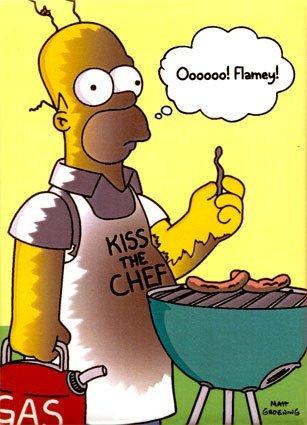 BBQ fever! Homerbbq