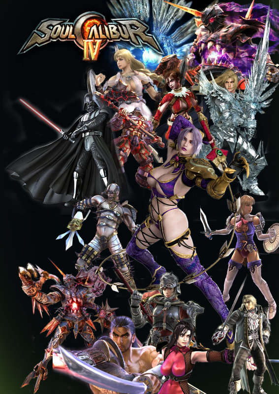 soul calibur 4 wallpaper. notably Soul Caliber IV