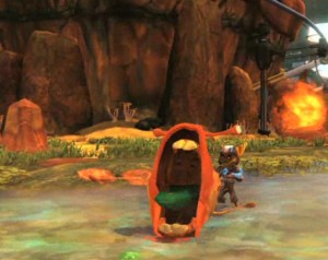 ratchet-and-clank-a-crack-in-time-monster-screenshot