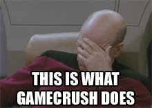 GameCrush facepalm