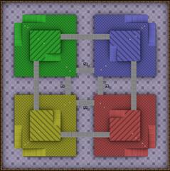 Mario Kart 64 Block Fort