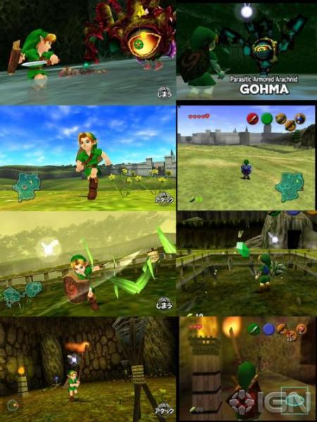 Ocarina of Time (3DS vs N64)
