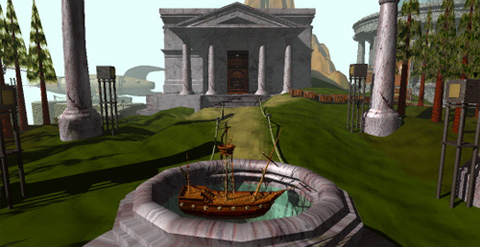 Myst boat