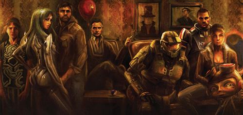 Video game portrait - Game Informer