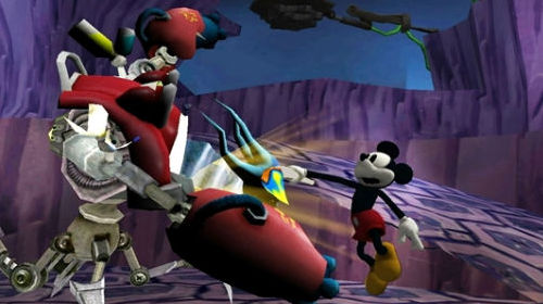 Mickey vs. Robo Hook