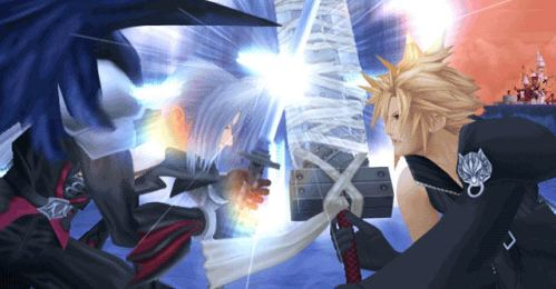 Sephiroth Kingdom Hearts 2