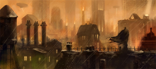 Arkham City Concept Art