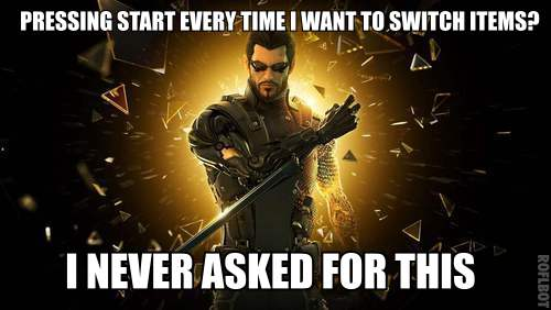 gaming control fails