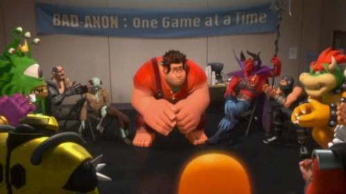 Wreck it ralph support group