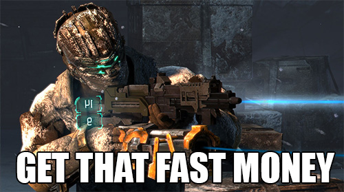dead space 3 microstransactions
