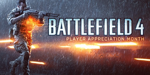 battlefield 4 player appreciation month